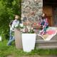 Напольное кашпо для цветов в Абакане