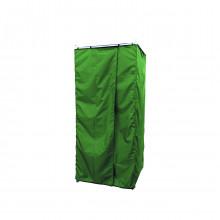 Дачная душевая кабина без бака (Стандарт) зеленая