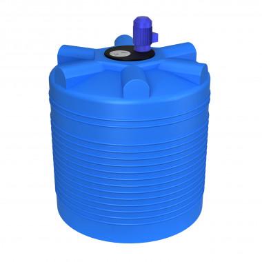 Емкость ЭВЛ 1000 л. с турбинной мешалкой